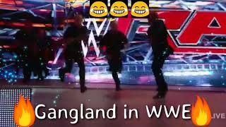 WWE fight in funny style with Punjabi song Gangland | Whatsap Status Video