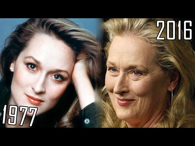Meryl Streep (1977-2016) all movies list from 1977! How much has changed? Before and Now!