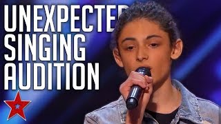Simon Cowell Compares AMAZING Kid Singer To HARRY STYLES On America's Got Talent   Got Talent Global