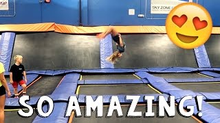 INSANE TRAMPOLINE TRICKS!