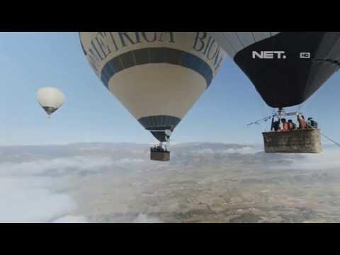 IMS Uji Nyali Lompat dari Balon Udara di Ketinggian 3000 meter
