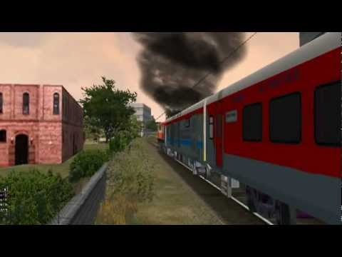 Xxx Mp4 MSTS Indian Railway Trivandrum TVC Rajdhani Chuggss Nd Honks Beautifully 3gp Sex