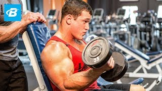 Build Massive Arms | Hunter and Lee Labrada