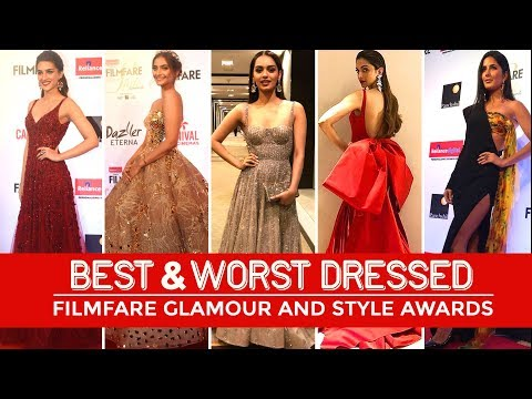 Xxx Mp4 Manushi Chhillar Deepika Padukone Best Worst Dressed At Filmfare Glamour Style Awards 3gp Sex