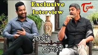 Nannaku Prematho Exclusive Interview with NTR and Jagapathi Babu