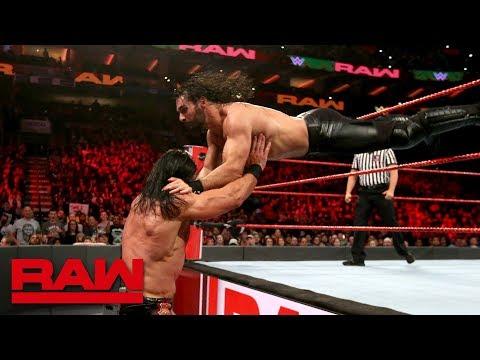 Xxx Mp4 Seth Rollins Vs Drew McIntyre WWE World Cup Qualifying Match Raw Oct 15 2018 3gp Sex