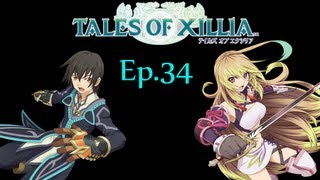 Tales of Xillia English Version Ep.34 Grinding Off Screen