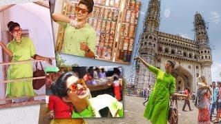 VLOG | Exploring my city Hyderabad | Sameera Sherief | Pagal Nilavu