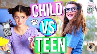 CHILD VS TEEN!!! | Tatiana Boyd