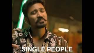 Maari single dialogue
