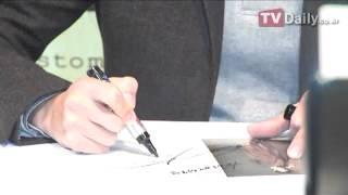 《善良的男人》宋仲基舉行粉絲簽名會 圍觀人群門庭若市