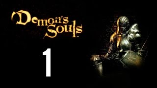 Demon's Souls part 1 (Game Movie) (Story Walkthrough) (No Commentary)