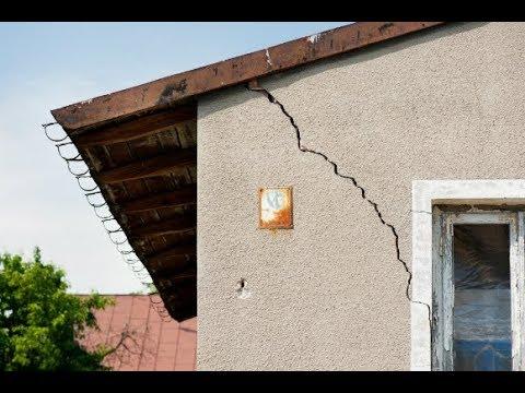 Como acabar com rachadura fissura trincado na parede paliativo