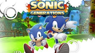 Sonic Generations Gameplay Walkthrough Full Game No Commentary (Longplay)