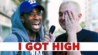 I GOT HIGH AND INTERVIEWED STRANGERS | Chris Klemens