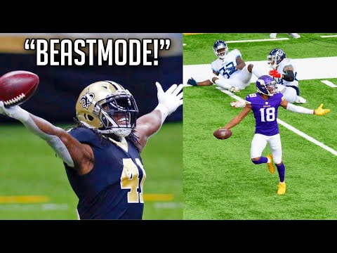 NFL Best BEAST MODE Moments of the 2020 2021 Season HD Part 1
