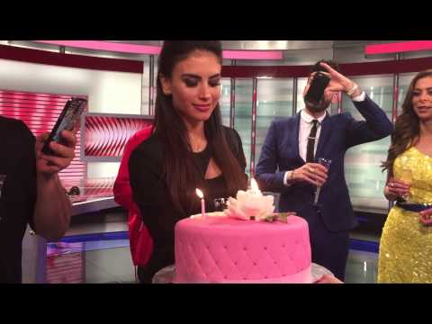 Cumpleaños de Jessica Cediel