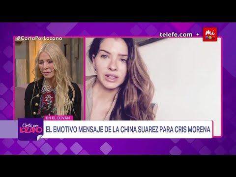 Xxx Mp4 El Emotivo Mensaje De Eugenia La China Suárez A Cris Morena Cortá Por Lozano 2018 3gp Sex