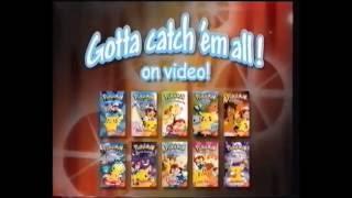 Pokemon Catch em all on vhs Advert (VHS Capture)