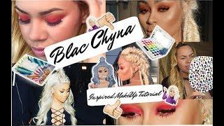 BLAC CHYNA Inspired Tutorial | Take Me Back To Brazil Palette | Red Smokey Eye