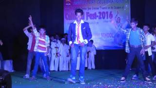 Annual Day Celebration (Cultural Fest-2016) Sardaar Gabbar Singh Title song