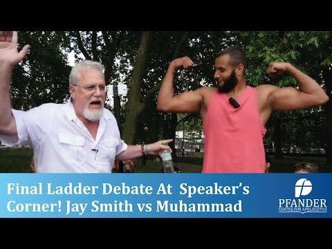 FINAL LADDER DEBATE AT SPEAKER'S CORNER! JAY SMITH vs MUHAMMAD HIJAB