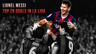 Lionel Messi - Top 20 Goals in La Liga 2004-2014 | HD