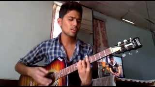 Pari Gawaima Baseki Meri Maya Aaideu Sapanima Nepali Song COVER by Suraj Adhikari