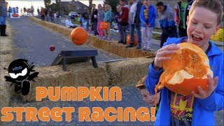 Pumpkin Street Racing!