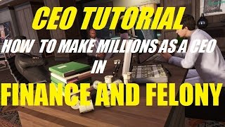 GTA 5 ONLINE - CEO TUTORIAL! HOW TO MAKE MILLIONS AS A CEO IN GTA ONLINE!!! (FINANCE AND FELONY)