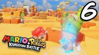 AMIIBO IITEMS! | Mario+Rabbids Kingdom Battle #6