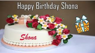 Happy Birthday Shona Image Wishes✔