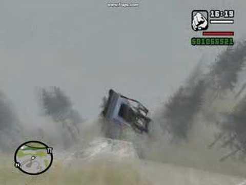 Grand Theft Auto San Andreas Mt. Chiliad Stunts