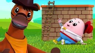 Humpty Dumpty | Kindergarten Videos | Nursery Rhymes by Farmees