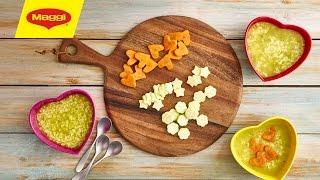 How to use cookie cutters to cut vegetables استخدمي قطاعة الكوكيز لقطع الخضار