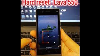 รีเซตเครื่อง hard reset lava iris 505