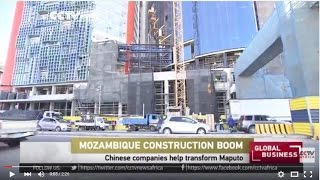 Chinese companies help transform the capital, Maputo