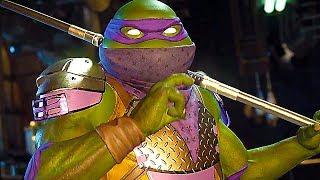 INJUSTICE 2 - Teenage Mutant Ninja Turtles Intros & Gameplay (TMNT)