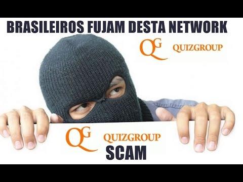 Seeking Justice: Quiz Group Network  is a Scam - Acionando  essa Network Suja na Justiça