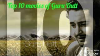 Top 10 movies of Guru Dutt