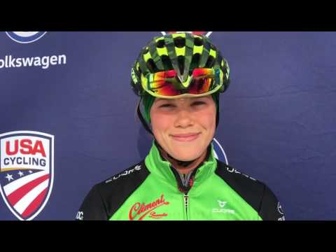Ashley Zoerner - Junior Women 17-18 National Champion