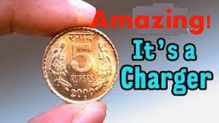 Amazing! Homemade Coin Charger