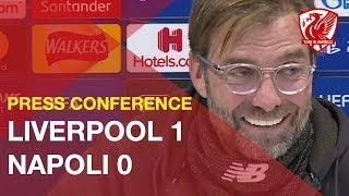 Liverpool 1-0 Napoli | Jurgen Klopp