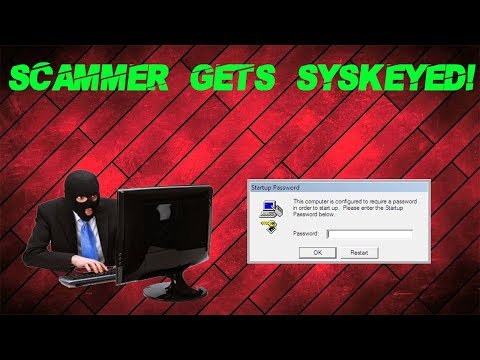 Syskeying a Tech Support Scammer s PC