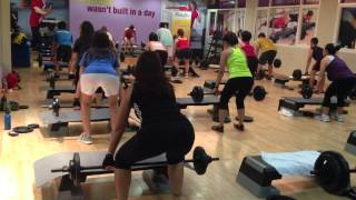 Body Pump @ Fitness First Donna, Ana, Shiela