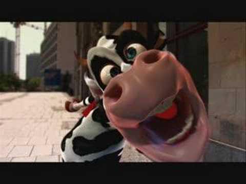 La Vaca Loca - Crazy Cow [Funny Video] El Video Mas Visto Del You Tube