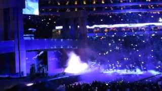 The Undertaker's Entrance At Wrestlemania 29/XXIX