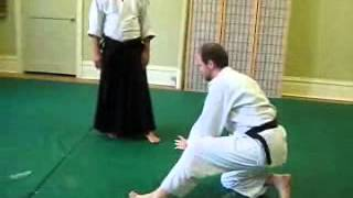 Yoko Ukemi - AAA 3rd Kyu Ki Test and Exercise