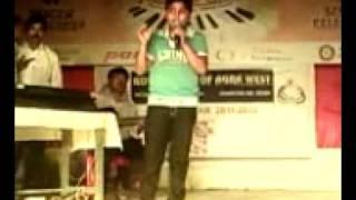 Gaurav Goswami singing in Sangam Kala Group,Agra