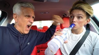Dad catches 15 year old kid getting DRUNK!!!!! *FREAKOUT* (prank)